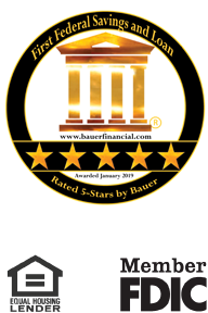 First Federal Lakewood Savings and Loan - Rated 5-Stars by Bauer